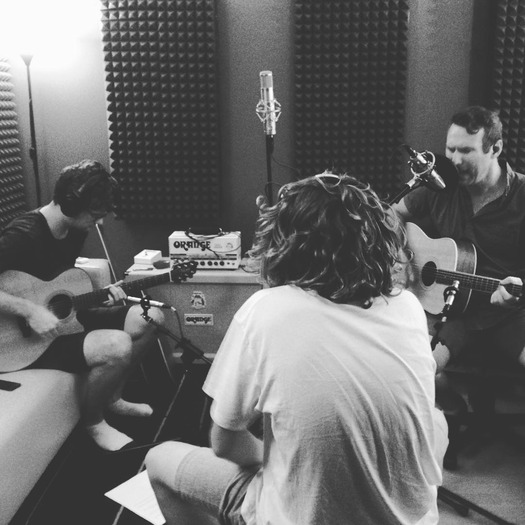 Acoustic Recording Session
